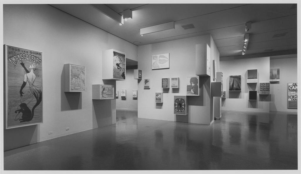 Word and Image, Installation photograph. January 25 – March 10, 1968 (Photographer: George Cserna), Photographic Archives, Museum of Modern Art, New York. Copyright SCALA.