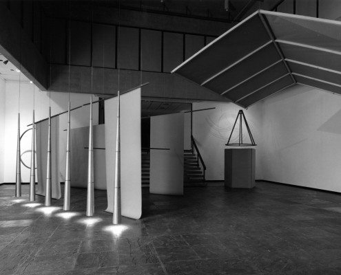 Figure 10 Joan Jonas, Stage Sets, installation view, Institute of Contemporary Art, Philadelphia, 1976.