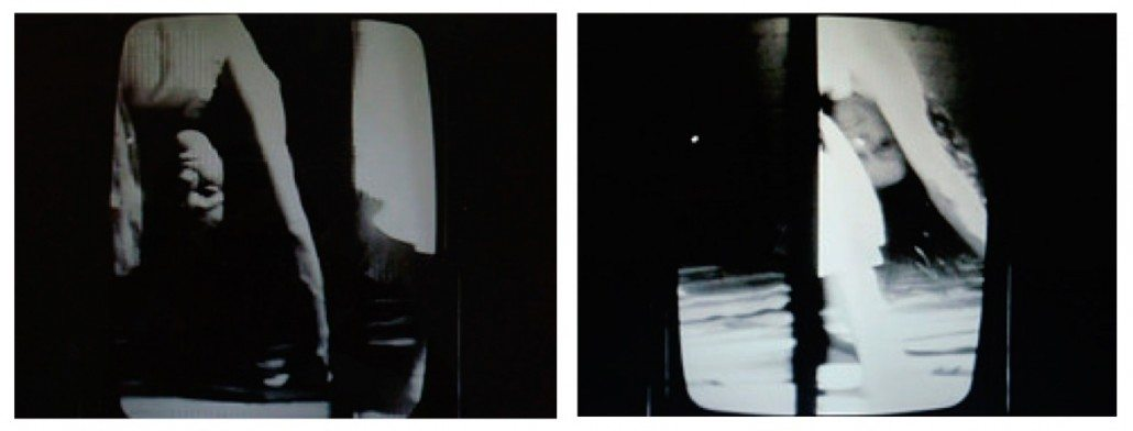 Joan Jonas, Mirage, 1976. 16mm film transferred to video, stills.