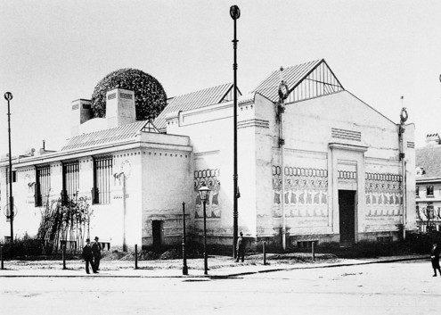 Josef Maria Olbrich, Secession Exhibition Building, Vienna, 1898.