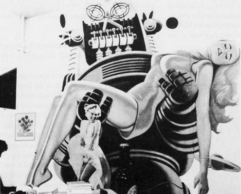 John Voelcker, John McHale and Richard Hamilton, 'Group 2' installation for This is Tomorrow, Whitechapel Gallery, London, 1956.