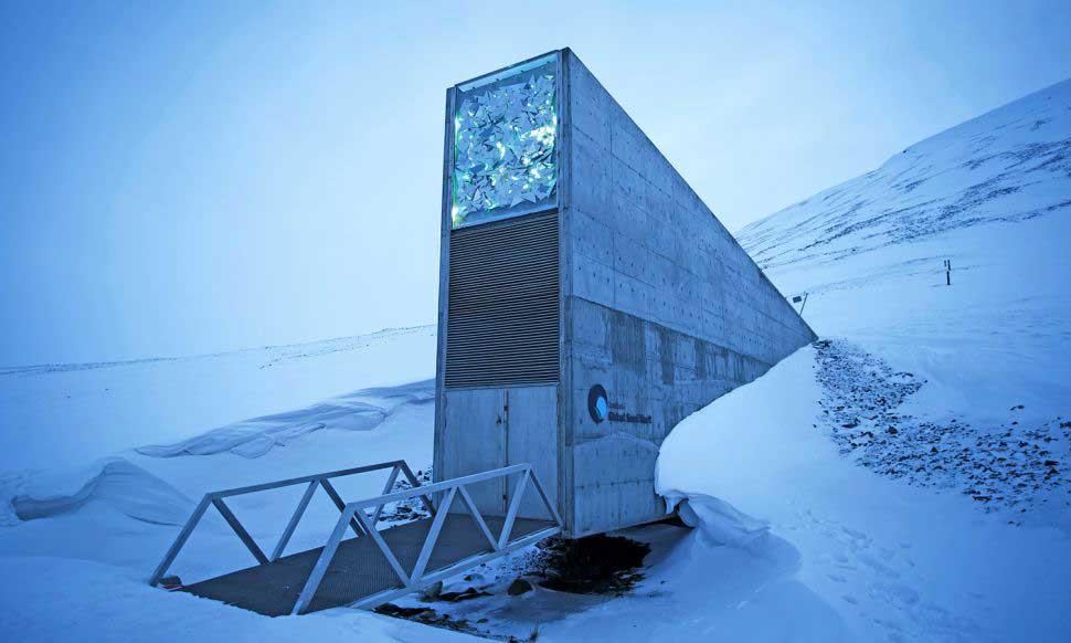 Fig. 1. Entrance to the Svalbard Global Seed Vault. Image credit: Heiko Junge/NTB scanpix/Zuma.