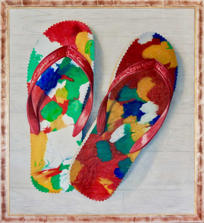 Jules Chin A Foeng Chinese Slippers