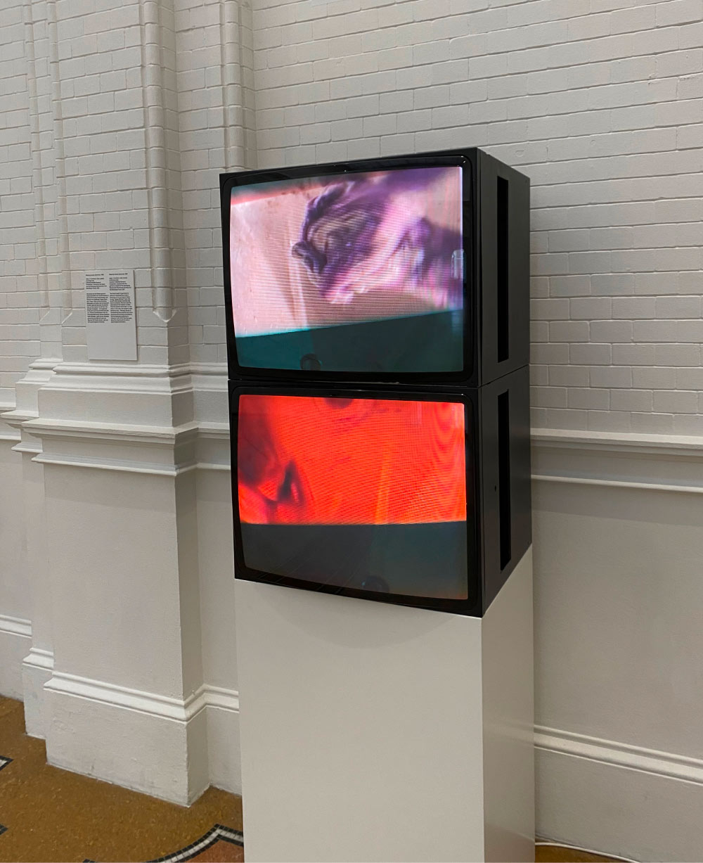 Fig. 1. Bruce Nauman, Washing Hands Abnormal, 1996. © 2021 Bruce Nauman / Stedelijk Museum